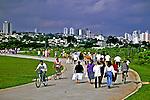 Parque Vila Lobos em São Paulo. 2004. Foto de Juca Martins.