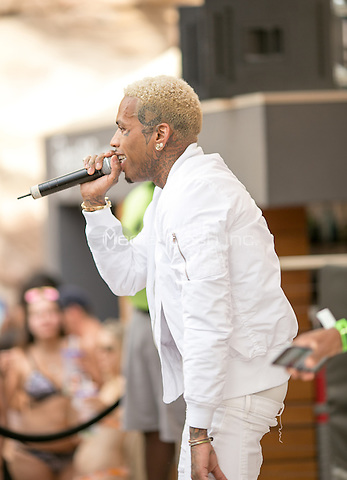 LAS VEGAS, NV - August 27, 2016: ***HOUSE COVERAGE*** Kid Ink performs at REHAB Pool Party at Hard Rock Hotel & Casino in Las vegas, NV on August 27, 2016. Credit: GDP Photos/ MediaPunch