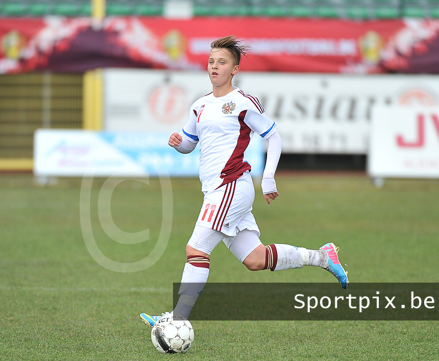 Russia U19 - Belgium U19 : Marina Kiskonen.foto DAVID CATRY / Nikonpro.be