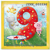 Isabella, CHILDREN BOOKS, BIRTHDAY, GEBURTSTAG, CUMPLEAÑOS, paintings+++++,ITKE055596,#BI#, EVERYDAY ,age cards