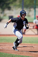 Chicago White Sox Mitch Roman (6) during an Instructional League game against the Cincinnati Reds on October 11, 2016 at the Cincinnati Reds Player Development Complex in Goodyear, Arizona.  (Mike Janes/Four Seam Images)