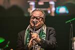 07.02.2019, Alte Werft, Bremen, GER, 1.FBL, 120 Jahre SV Werder Bremen - 120 Jahre Lauter - das Konzert<br /> <br /> im Bild<br /> Auftritt Heinz Rudolf Kunze, <br /> <br /> Der Fussballverein SV Werder Bremen feiert sein 120-jähriges Bestehen. In der Alten Werft Bremen findet anläßlich des Jubiläums ein Konzert für Fans statt. <br /> <br /> Foto © nordphoto / Ewert