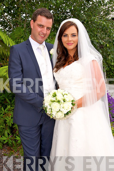 Caitriona O'Sullivan, Ballyard Tralee, daughter of John and Marion O'Sullivan, and Stephen Andrecutti, son of Brendan Costello and Anna Andrecutti were married at St. John's Church Tralee, by Fr Francis on Thursday 3rd July 2014 and after at Ballygarry House Hotel