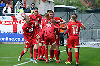 O's Matt Harrold scores O's 2nd goal and celebrates during Leyton Orient vs Walsall, Sky Bet EFL League 2 Football at The Breyer Group Stadium on 12th October 2019