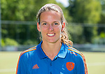 AMSTELVEEN - fysio DORIS VAN DER LAAN  Nederlands team dames op weg naar de HWL. COPYRIGHT KOEN SUYK