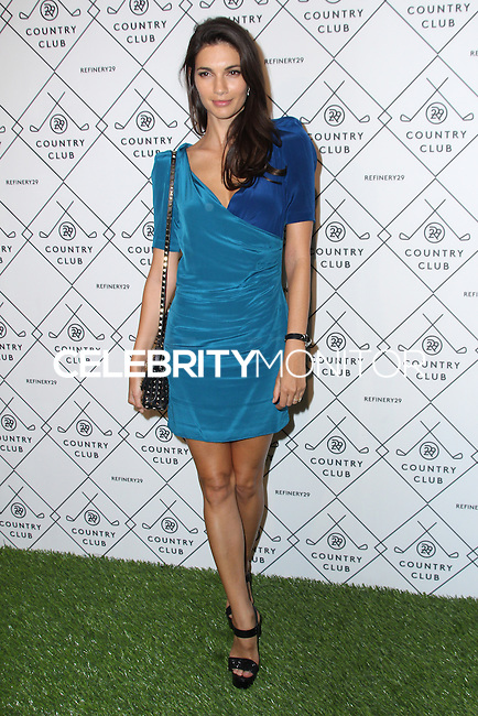 NEW YORK CITY, NY, USA - SEPTEMBER 04: Teresa Moore arrives at the Refinery29 Country Club Launch & NYFW Kick-Off Party held at 82 Mercer on September 4, 2014 in New York City, New York, United States. (Photo by Jeffery Duran/Celebrity Monitor)