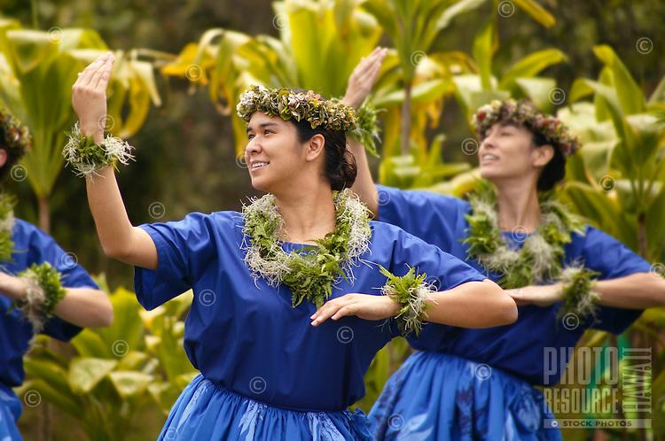 Hula Kahiko, hula platform, Hawaii Volcanoes National Park-Kumu Hula Tis'a Kalili Wenzel and Kahula O Ka Moana Pakipika