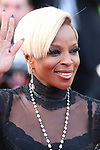 Cannes Film Festival 2017 - Day 5. 'The Meyerowitz Stories' Red Carpet  during the 70th edition of the 'Festival International du Film de Cannes' on 21/05/2017 in Cannes, France. The film festival runs from 17 to 28 May. Pictured : Mary J. Blige © Pierre Teyssot / Maxppp