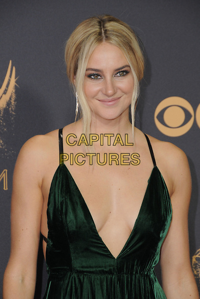 17 September  2017 - Los Angeles, California - Shalene Woodley. 69th Annual Primetime Emmy Awards - Arrivals held at Microsoft Theater in Los Angeles. <br /> CAP/ADM/BT<br /> &copy;BT/ADM/Capital Pictures