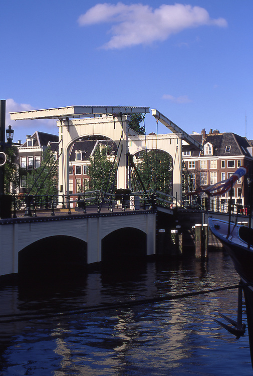 Europe, NLD, Netherlands, Provinz Noord Holland, Amsterdam, Amstel Canal, Drawbridge, Magere Brug ( Magere Bruecke )....[ For each utilisation of my images my General Terms and Conditions are mandatory. Usage only against use message and proof. Download of my General Terms and Conditions under http://www.image-box.com or ask for sending. A clearance before usage is necessary...Material is subject to royalties. Each utilisation of my images is subject to a fee in accordance to the present valid MFM-List...Contact | archive@image-box.com | www.image-box.com ]