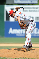 Richmond Flying Squirrels pitcher  Edwin Quirarte (35) during game against the New Britain Rock Cats at New Britain Stadium on May 30, 2013 in New Britain, CT.  New Britain defeated Richmond 2-1.  (Tomasso DeRosa/Four Seam Images)