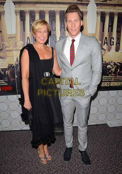 03 June 2014 - Los Angeles, California - Yeardley Smith, Dustin Lance Black. Arrivals for the Los Angeles Premiere of the new HBO documentary 'The Case Against 8' at DGA Theater in Los Angeles, Ca. <br /> CAP/ADM/BT<br /> &copy;Birdie Thompson/AdMedia/Capital Pictures