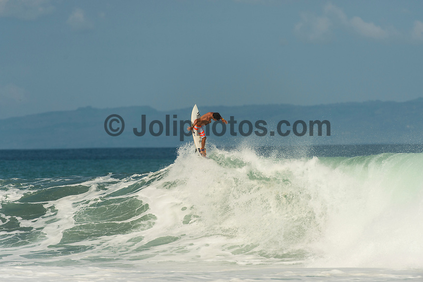 KERAMAS, Bali/Indonesia (Wednesday, June 26, 2013) Filipe Toledo (BRA) during a free surfing session at Keramas. – Photo: joliphotos.com