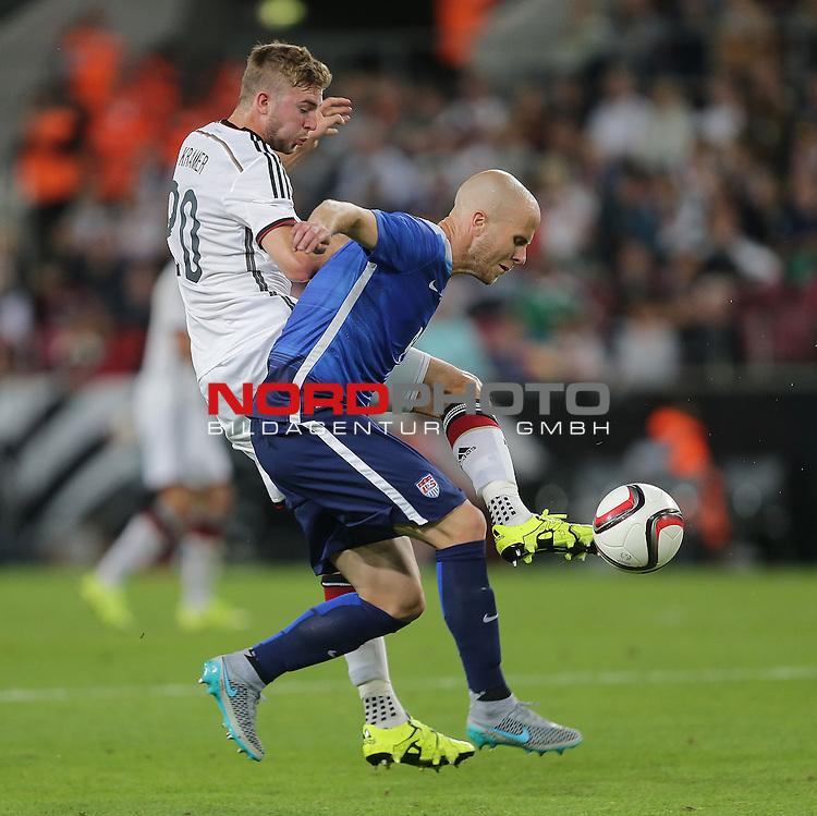 DFB Freundschaftsl&auml;nderspiel, Deutschland vs. USA<br /> Christoph Kramer (Deutschland), Michael Bradley (USA)<br /> <br /> Foto &copy; nordphoto /  Bratic