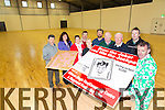 Ongoing Joker Fundraiser in aid of the Milltown Nagle Rice Community Centre opening in the new year. Pictured Michael O'Shea, Lisa Barrett, Doreen Burke, Margaret McCue, George McAuliffe, Jerry Casey, Stewart Stevens, Don Myers, Linus Burke, Michael McCarthy