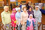 Pictured at the Islamic event in the Brandon hotel, Tralee, on Saturday were l-r: Noreen Ebert (Tralee) Amena Kahtun (Tralee) Aqusa Haroon (Tralee) Pauline Martin (Tralee) Sadia Shereef Fadhime (Tralee) Shereef (Tralee) and Faiza Yasin (Tralee).