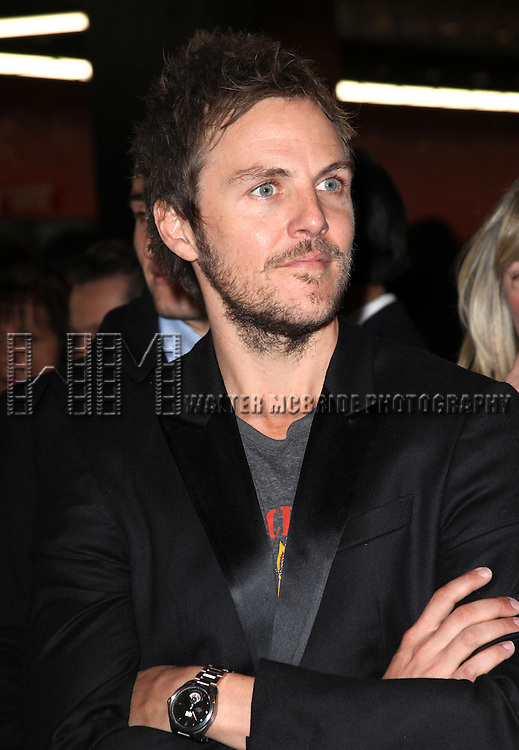 Charlie Mars.arriving for the Opening Night Performance of the Broadway Revival of 'Godspell' at Circle in the Square Theatre in New York City.