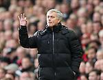 Jose Mourinho manager of Chelsea  - Barclays Premier League - Liverpool vs Chelsea - Anfield Stadium - Liverpool - England - 8th November 2014  - Picture Simon Bellis/Sportimage