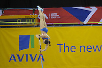 Photo: Ady Kerry/Richard Lane Photography..Aviva Grand Prix. 21/02/2009. .Yelana Isinbayeva in the pole vault