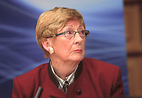 "**** NO FEE PIC***.12/04/2012 .Gillian Hussey Chair of Crime Victims Helpline.during a conference on the ""The EU Directive on Victims Rights: Opportunities and Challenges for Ireland"" hosted by the the Irish Council for Civil Liberties (ICCL) in Dublin Castle..Photo: Gareth Chaney Collins"
