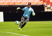 WASHINGTON, DC - June 01 2013: Germany MNT practice and news conference at RFK Stadium, in Washington DC.