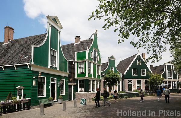 Nederland Zaanse Schans  2017 -    Helemaal links de allereerste Albert Heijn winkel.  Foto Berlinda van Dam / Hollandse Hoogte