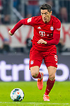 09.11.2019, Allianz Arena, Muenchen, GER, 1.FBL,  FC Bayern Muenchen vs. Borussia Dortmund, DFL regulations prohibit any use of photographs as image sequences and/or quasi-video, im Bild Robert Lewandowski (FCB #9) <br /> <br />  Foto © nordphoto / Straubmeier