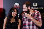 Maysun Abu-Khdeir and Manu Brabo attends to 'Morir para contar' film premiere during the Madrid Premiere Week at Callao City Lights cinema in Madrid, Spain. November 13, 2018. (ALTERPHOTOS/A. Perez Meca)