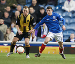 Lee Currie and Fraser Aird