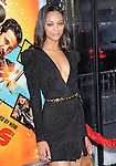 Zoe Saldana at the Warner Bros. Pictures L.A. Premiere of The Losers held at The Grauman's Chinese Theatre in Hollywood, California on April 20,2010                                                                   Copyright 2010  DVS / RockinExposures