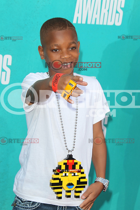 Lil Niqo at the 2012 MTV Movie Awards held at Gibson Amphitheatre on June 3, 2012 in Universal City, California. ©mpi29/MediaPunch Inc.