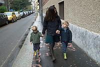 Milan, Family..Milano, famiglia