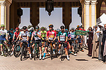 Ready to start Stage 5 of the Saudi Tour 2020 running 144km from Princess Nourah University to Al Masmak, Saudi Arabia. 8th February 2020. <br /> Picture: ASO/Kåre Dehlie Thorstad   Cyclefile<br /> All photos usage must carry mandatory copyright credit (© Cyclefile   ASO/Kåre Dehlie Thorstad)