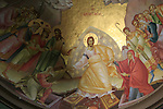 Israel, Capernaum by the Sea of Galilee, paintings in the Greek Orthodox Church of the Twelve Apostles