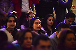 Egyptian Christians take part in a prayer during celebrations of Christmas and New Year festivities, at Kasr el-Dobara evangelical Church, in Cairo on Jan 01, 2016. Photo by Amr Sayed