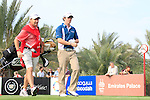Rory McIlroy walks off the 14th teebox during the Final Day Sunday of the Abu Dhabi HSBC Golf Championship, 23rd January 2011..(Picture Eoin Clarke/www.golffile.ie)