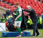 Fraser Fyvie not happy about being subbed