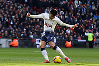 Son Heung-Min of Tottenham Hotspur during Tottenham Hotspur vs Newcastle United, Premier League Football at Wembley Stadium on 2nd February 2019