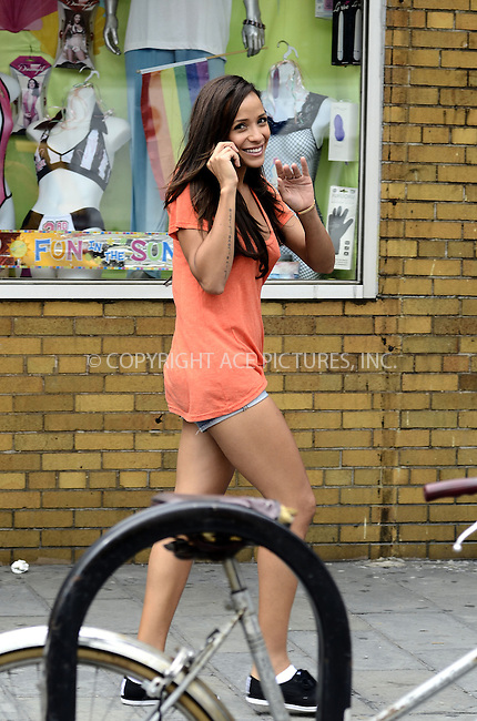 WWW.ACEPIXS.COM....September 6 2012, New York City....Actress Dania Ramirez was walking around the West Village on September 6 2012 in New York City......By Line: Curtis Means/ACE Pictures......ACE Pictures, Inc...tel: 646 769 0430..Email: info@acepixs.com..www.acepixs.com