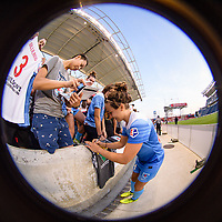 Bridgeview, IL - Sunday September 03, 2017: Danielle Colaprico during a regular season National Women's Soccer League (NWSL) match between the Chicago Red Stars and the North Carolina Courage at Toyota Park. The Red Stars won 2-1.