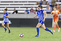 Houston, TX - Saturday July 22, 2017: Morgan Andrews during a regular season National Women's Soccer League (NWSL) match between the Houston Dash and the Boston Breakers at BBVA Compass Stadium.