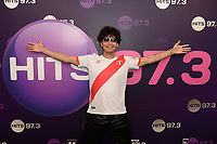 HOLLYWOOD, FL - APRIL 08: Alejandro Chal also known as A. Chal visits radio station Hits 97.3 on April 8, 2019 in Hollywood, Florida. <br /> CAP/MPI04<br /> &copy;MPI04/Capital Pictures