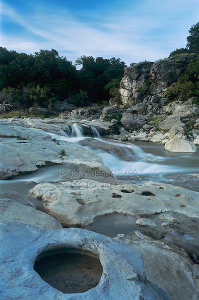 Pedernales Falls, Pedernales Falls State Park,Texas, USA, April 2001
