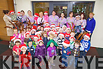 Children from Feale Childcare, Listowel dressed up for Christmas on Friday