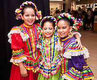 Sara Delaturie, Renata Cueva, Reighleen Garcia attend The Shops at Montebello Hispanic Heritage Month Event on October 10, 2015 (Photo by Alexander Plank/Guest of a Guest)