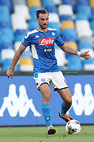 Fabian Ruiz of Napoli in action during the Serie A football match between SSC  Napoli and SPAL at stadio San Paolo in Naples ( Italy ), June 28th, 2020. Play resumes behind closed doors following the outbreak of the coronavirus disease. <br /> Photo Cesare Purini / Insidefoto
