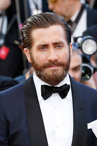 "Jake Gyllenhaal at the ""Okja"" premiere during the 70th Cannes Film Festival at the Palais des Festivals on May 19, 2017 in Cannes, France. (c) John Rasimus /MediaPunch ***FRANCE, SWEDEN, NORWAY, DENARK, FINLAND, USA, CZECH REPUBLIC, SOUTH AMERICA ONLY***"