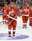 Matt Christie (MiamiU - Ajax, ON) - The Boston College Eagles defeated the Miami University Redhawks 4-0 in the 2007 NCAA Northeast Regional Final on Sunday, March 25, 2007 at the Verizon Wireless Arena in Manchester, New Hampshire.