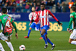"Atletico de Madrid's Thomas Partey during the match of ""Copa del Rey"" between Atletico de Madrid and Gijuelo CF at Vicente Calderon Stadium in Madrid, Spain. december 20, 2016. (ALTERPHOTOS/Rodrigo Jimenez)"