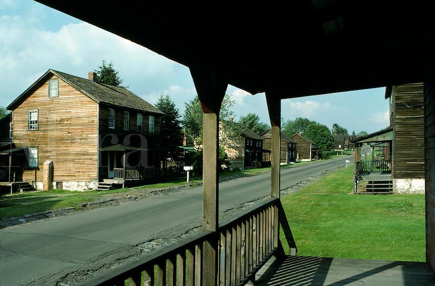 Main Street, Eckley Miner's Village, Luzerne Country, Pennsylvania